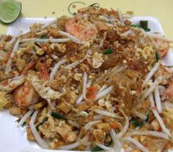 Prawn Noodles With Sesame Sauce