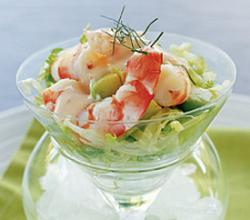 Calypso Prawn Cocktail Salad