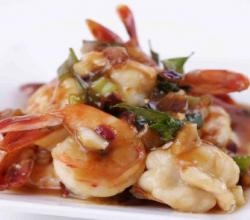 Prawns In Chilli Sauce
