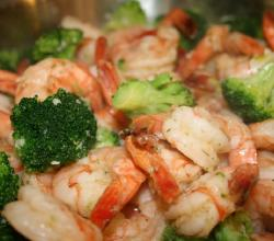 Prawns With Broccoli