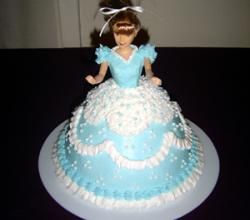 Princess Doll Birthday Cake Recipe