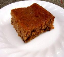 Prune Ginger Cake