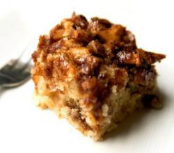Prune Crumble Cake