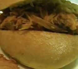 Exotic Pulled Pork Sandwich