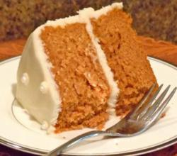 Pumpkin Orange Cake