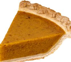Healthy And Light Pumpkin Pie