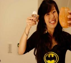 Feeling Spooky: Halloween Special - Pumpkin Milkshakes & Mini Pumpkin Cheesecakes