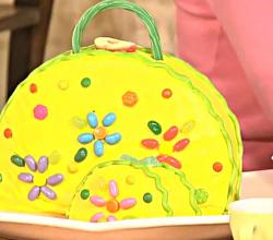 How to Make a Purse Cake - Purse Shaped Birthday Cake