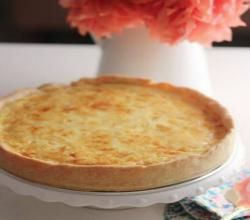 How To Make Quiche - Cheese Quiche W/ Super Flaky Crust