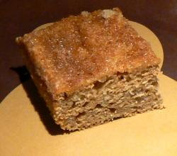 Quick Applesauce Cake