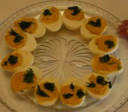Delicious And Quick Deviled Egg From Leftover Easter Eggs