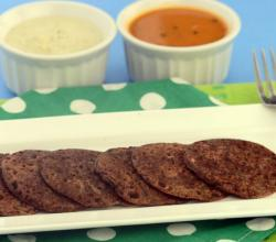 Ragi and Coriander Uttapa (Calcium and Iron Rich Snack)