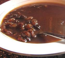 Spiced Raisin Sauce