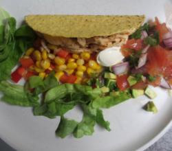 Raw Corn Tortilla and Taco Shell