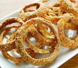 Raw Onion and Bread Sticks