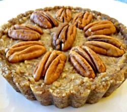 Sweet and Scrumptious Raw Pecan Pie