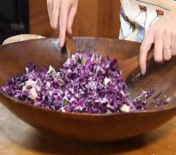 Ardrahan Red Cabbage Salad
