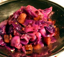 Red Cabbage and Chestnuts