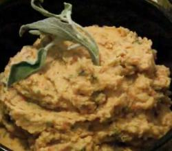 Sage and Red Pepper Hummus
