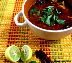 Kerala Red Prawns Curry with Kokum