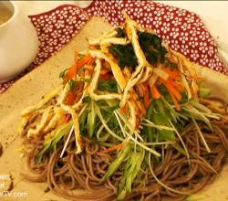 Japanese Soba Noodle Salad - Part 1: Preparation