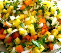 Refreshing Pineapple Salsa