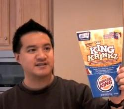 Review of Burger King's King Krinkz French Fries