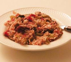 Rice and Chicken Jambalaya
