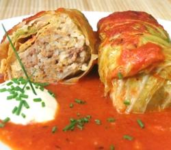 Rice Stuffed Cabbage