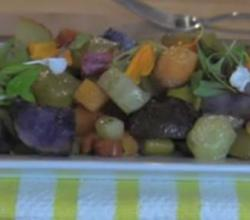 Roasted Heirloom Organic Vegetables