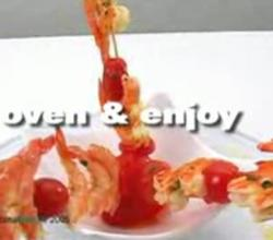 Grilled Prawn Kebabs