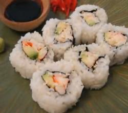 Rolling Your Own California Roll