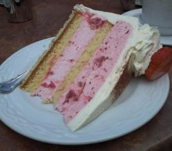Royal Strawberry Cake
