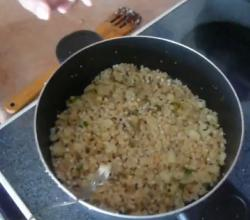 Spicy cooked Sago Seeds