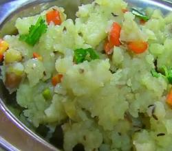 Sabudana or Sago Khichdi for Upvas - Spicy Tapioca for Fasting