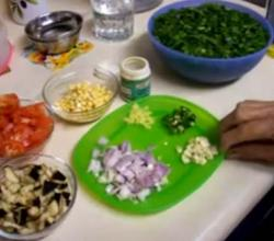 Sindhi Sai Bhaji Ingredients Part 1