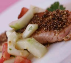 Coriander Crusted Salmon Recipe