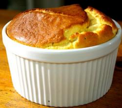 Salted Cheese Souffle