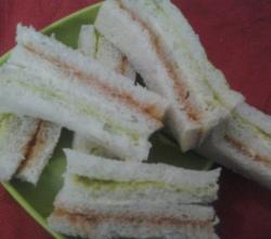 Tri Colored Sandwich