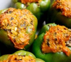Sardine Stuffed Peppers