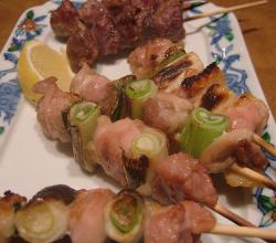 Japanese Style Skewered Chicken