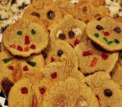 Halloween Sugar Cookies (Scary)