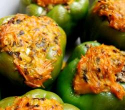 Seafood Stuffed Peppers