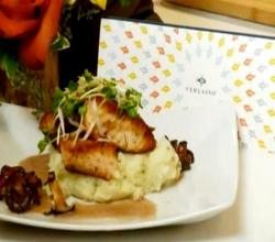 Chef Davis Denick makes Seared Verlasso Salmon