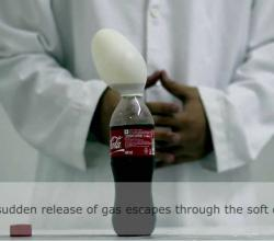 Self Inflating Balloon Using Soda or Coca Cola - Science Experiments