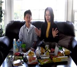 Seonkyoung Eats Snack with Hanyeol Part 2