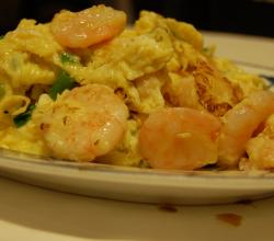 Shrimp And Egg Scramble