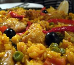Shrimp Chicken Paella
