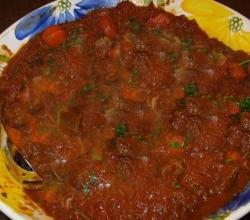 Simmered Hungarian Goulash