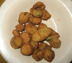 Simple Fried Okra